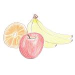 [季節限定]りんごとバナナ